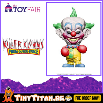 Funko POP! Shorty - Killer klowns From Outer Space Pre-Order