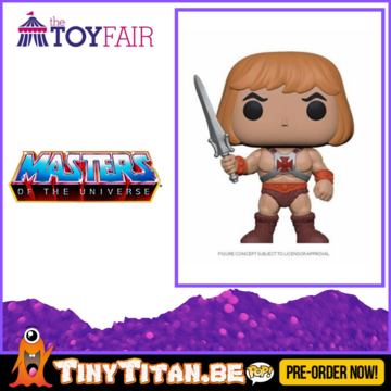 Funko POP! He-Man - Masters of the Universe Pre-Order