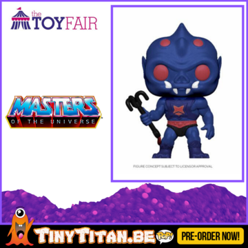 Funko POP! Webstor - Masters of the Universe Pre-Order