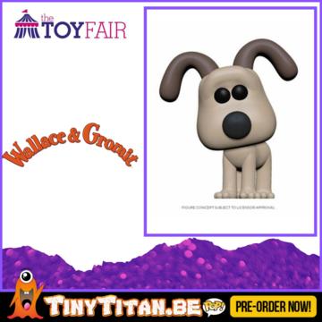 Funko POP! Gromit - Wallace & Gromit Pre-Order