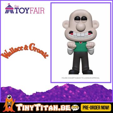 Funko POP! Wallace - Wallace & Gromit Pre-Order