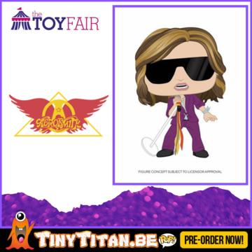 Funko POP! Steven Tyler - Aerosmith Pre-Order