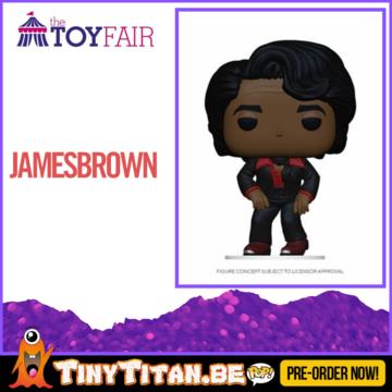 Funko POP! James Brown Pre-Order