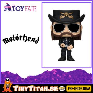Funko POP! Lemmy - Motorhead Pre-Order