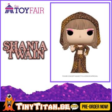 Funko POP! Shania Twain Pre-Order
