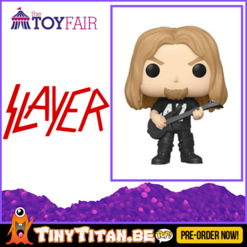 Funko POP! Jeff Hanneman - Slayer Pre-Order