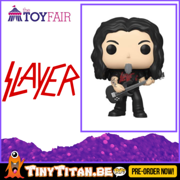 Funko POP! Tom Araya - Slayer Pre-Order