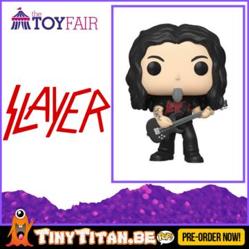 Funko POP! Tom Araya - Slayer Pre-Order