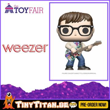 Funko POP! Rivers Cuomo - Weezer Pre-Order