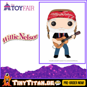 Funko POP! Willie Nelson Pre-Order