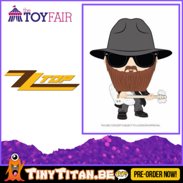 Funko POP! Bolly Gibbons - ZZ Top Pre-Order