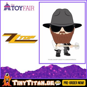 Funko POP! Bolly Gibbons - ZZ Top Pre-Order