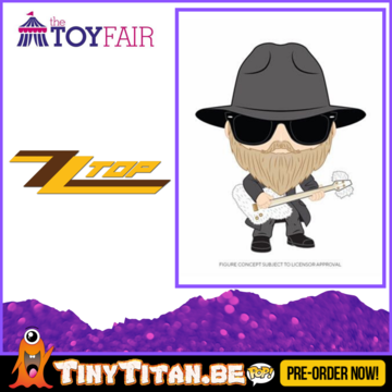 Funko POP! Dusty Hill - ZZ Top Pre-Order