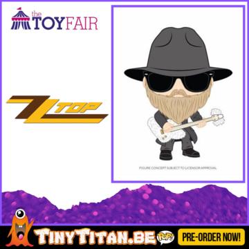 Funko POP! Dusty Hill - ZZ Top Pre-Order