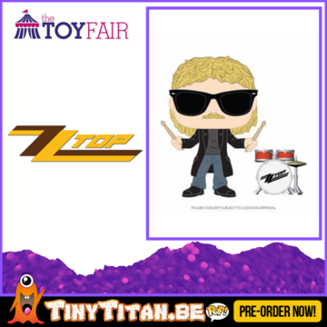 Funko POP! Frank Beard - ZZ Top Pre-Order