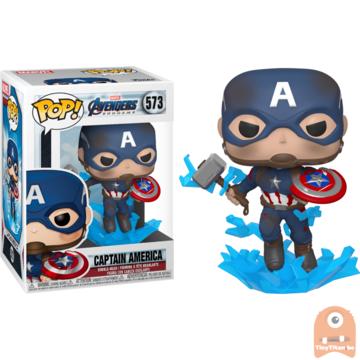 POP! Marvel Captain Marvel w/ Mjolnir #573 Avengers Endgame