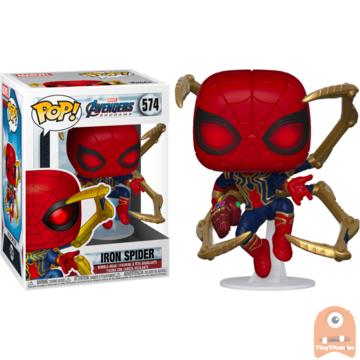 POP! Marvel Iron Spider w/ nano Gauntlet #574 Avengers Endgame