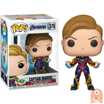 POP! Marvel Captain Marvel New Hair #576 Avengers Endgame
