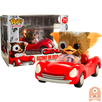 POP! Ride Movies Gizmo in Red Car #71 Gremlins - Exclusive