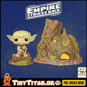 Funko POP! Town Yoda's Hut - Star Wars Empire Strikes Back 40th Anniversary Pre-Order
