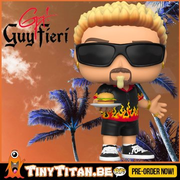 Funko POP! Guy Fieri Pre-Order