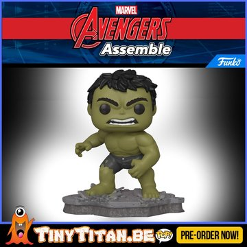 Funko POP! Deluxe, Marvel: Avengers Assemble Series - Hulk Exclusive PRE-ORDER