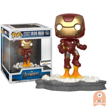 Funko POP! Deluxe, Marvel: Avengers Assemble Series - Iron Man #584 Exclusive