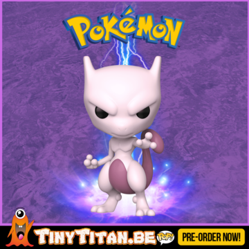 Funko POP! Mewtwo - Pokemon Pre-Order - Import Exclusive
