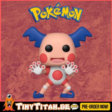 Funko POP! Mr. Mime - Pokemon Pre-Order - Import Exclusive
