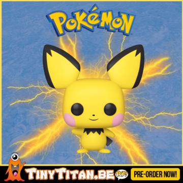 Funko POP! Pichu - Pokemon Pre-Order - Import Exclusive