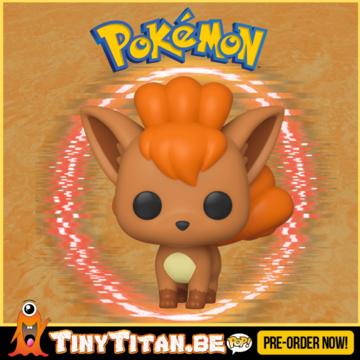Funko POP! Vulpix - Pokemon Pre-Order - Import Exclusive