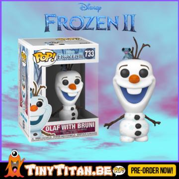 Funko POP! Olaf & Bruni - Frozen II Pre-Order Disney