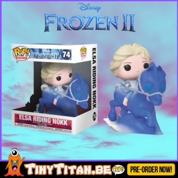 Funko POP! RIDE Elsa Riding Nokk - Frozen II Pre-Order Disney