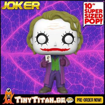 Funko POP! Joker 10 INCH PRE-ORDER