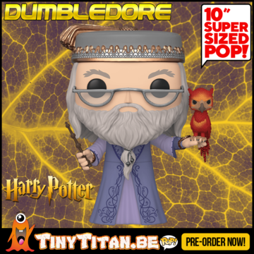 Funko POP! Dumbledore w/ Fawkes 10 INCH - Harry Potter PRE-ORDER