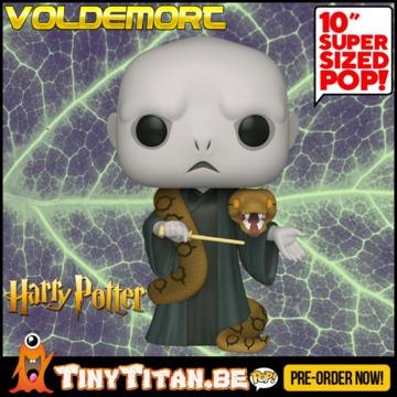 Funko POP! Voldemort w/ Nagini 10 INCH - Harry Potter PRE-ORDER