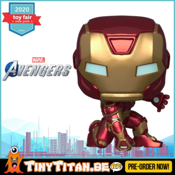 Funko POP! iron Man - Marvel's Avengers 2020 Video Game Pre-Order