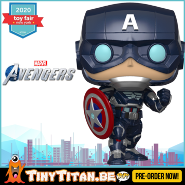 Funko POP! Captain America - Marvel's Avengers 2020 Video Game Pre-Order