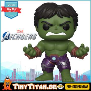 Funko POP! Hulk - Marvel's Avengers 2020 Video Game Pre-Order