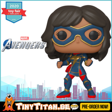 Funko POP! Kamala Kha - Marvel's Avengers 2020 Video Game Pre-Order