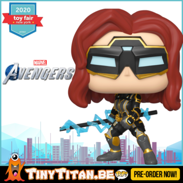 Funko POP! Black Widow - Marvel's Avengers 2020 Video Game Pre-Order