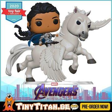 Funko POP! Valkyrie on Horse Ride - Marvel Avengers EndGame Pre-Order
