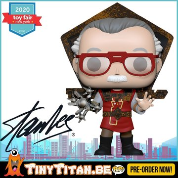 Funko POP! Stan Lee in Ragnarok Outfit Pre-Order