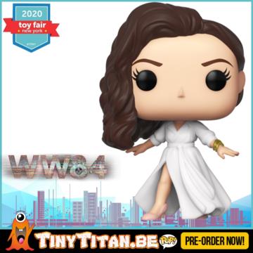 Funko POP! Diana Prince in white dress - Wonder Woman 1984 Pre-Order