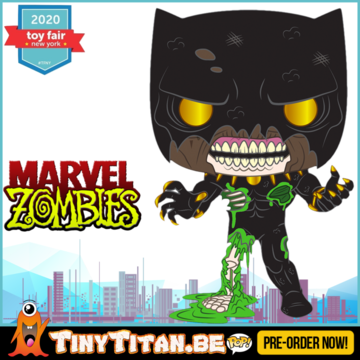 Funko POP! Zombie Black Panther - Marvel Zombies Pre-Order