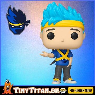 Funko POP! Icons Ninja - Richard Tyler Blevins  Pre-Order
