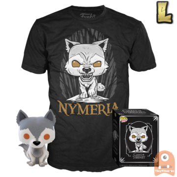 Funko POP! & TEE BOX Game of Thrones Nymeria Exclusive - Large