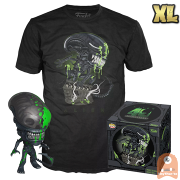 Funko POP! & TEE BOX Alien - Xenomorph Blood Spatter 40th B-day Exclusive - X-Large