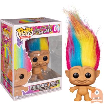 POP! Animation Rainbow Troll #01 Good Luck Trolls