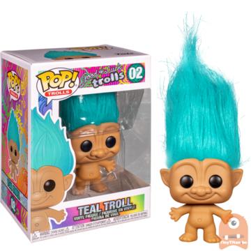 POP! Animation Teal Troll #02 Good Luck Trolls